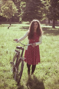 5065222-vintage-eastern-hipster-woman-with-bike